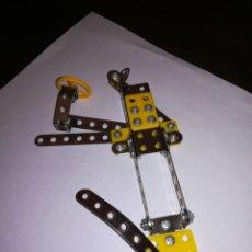 Juegos construcción - Meccano: MECANO PIEZAS DEL JUEGO DE CONSTRUCCIÓN METALICO MECCANO. Lote 176519629