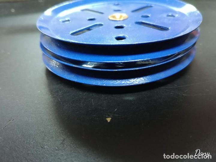 Juegos construcción - Meccano: Meccano parte nº 19b Lote 2 poleas 3 pulgadas. - Foto 3 - 177831614