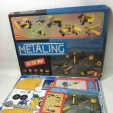 Juegos construcción - Meccano: ORIGINAL AÑOS 70 MECANNO METALING SERIE ESPACIAL CON 2 CATÁLOGOS ES DEL AÑO 1970. Lote 178085532