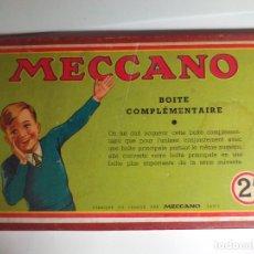 Juegos construcción - Meccano: MECCANO N 2 FRANCES. Lote 178296167