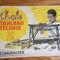 Juegos construcción - Meccano: THALE STAHLBAU TECHNIK. Lote 178619472