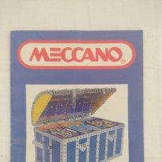 Juegos construcción - Meccano: CATALOGO MECCANO.. Lote 179308967