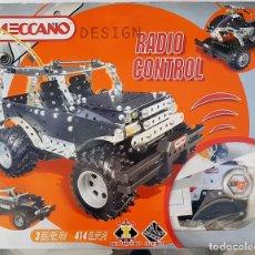 Juegos construcción - Meccano: MECCANO RADIO CONTROL REF. 8700 AÑO 2005. Lote 179315293