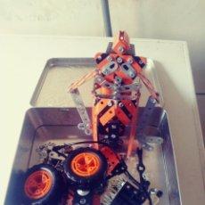 Juegos construcción - Meccano: LOTE PIEZAS CONSTRUCCION MECANO. Lote 180258330