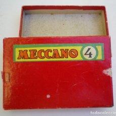 Juegos construcción - Meccano: CAJA MECCANO EN CARTÓN. Lote 180286121