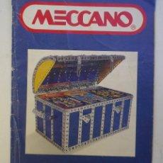 Juegos construcción - Meccano: CATÁLOGO MECCANO. Lote 180286255