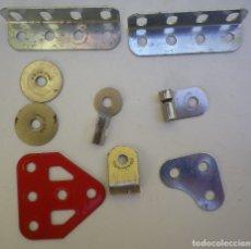 Juegos construcción - Meccano: MECCANO, LOTE DE PIEZAS. Lote 180286716
