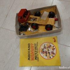 Juegos construcción - Meccano: MECCANO MULTIKIT . SE VENDE TAL COMO SE APRECIA . . Lote 180496482
