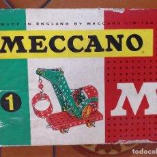 Juegos construcción - Meccano: MECCANO. 1. MADE IN ENGLAND.. Lote 180502247