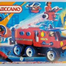 Juegos construcción - Meccano: MECCANO CITY SET. 7100 PARA REALIZAR 7 MONTAJES DE BOMBEROS. Lote 181564222