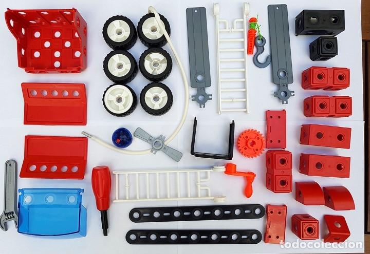 Juegos construcción - Meccano: MECCANO CITY Set. 7100 PARA REALIZAR 7 MONTAJES DE BOMBEROS - Foto 4 - 181564222