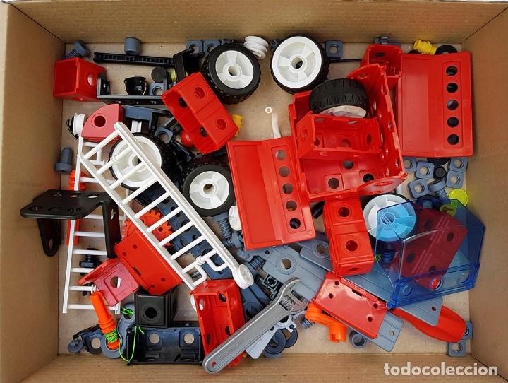 Juegos construcción - Meccano: MECCANO CITY Set. 7100 PARA REALIZAR 7 MONTAJES DE BOMBEROS - Foto 6 - 181564222