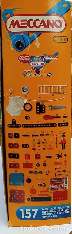 Juegos construcción - Meccano: MECCANO CITY Set. 7100 PARA REALIZAR 7 MONTAJES DE BOMBEROS - Foto 7 - 181564222