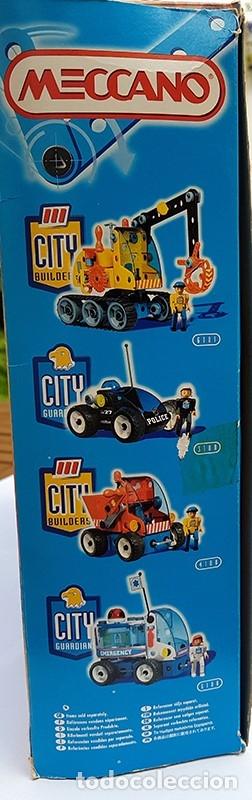 Juegos construcción - Meccano: MECCANO CITY Set. 7100 PARA REALIZAR 7 MONTAJES DE BOMBEROS - Foto 8 - 181564222