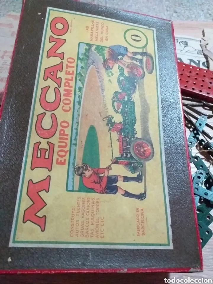 Juegos construcción - Meccano: ANTIGUO JUEGO MECCANO - Foto 2 - 182066626