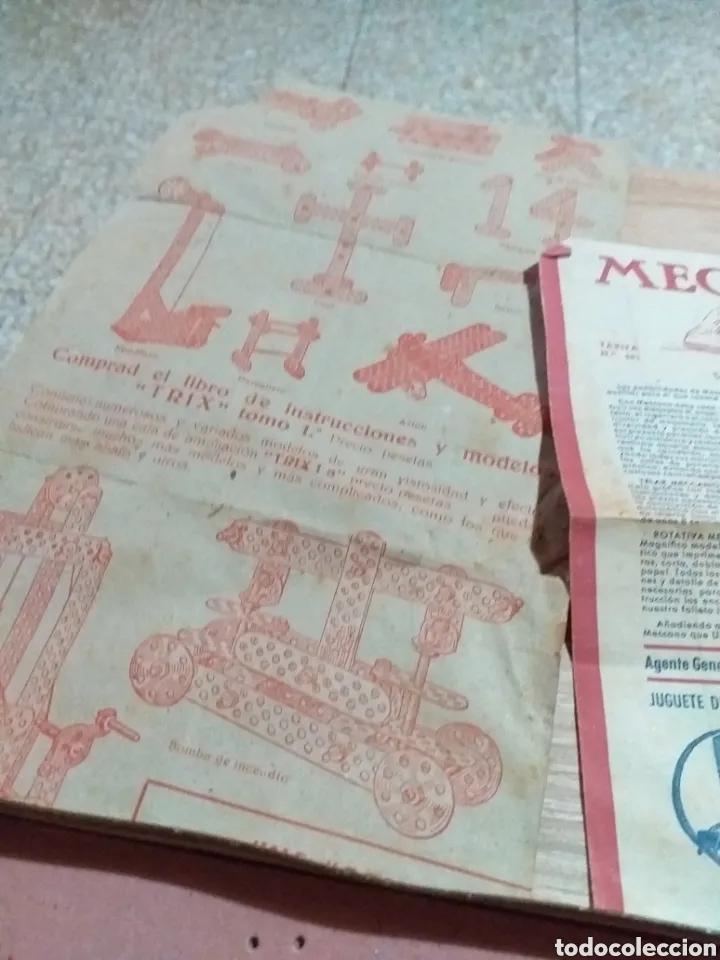Juegos construcción - Meccano: ANTIGUO JUEGO MECCANO - Foto 3 - 182066626