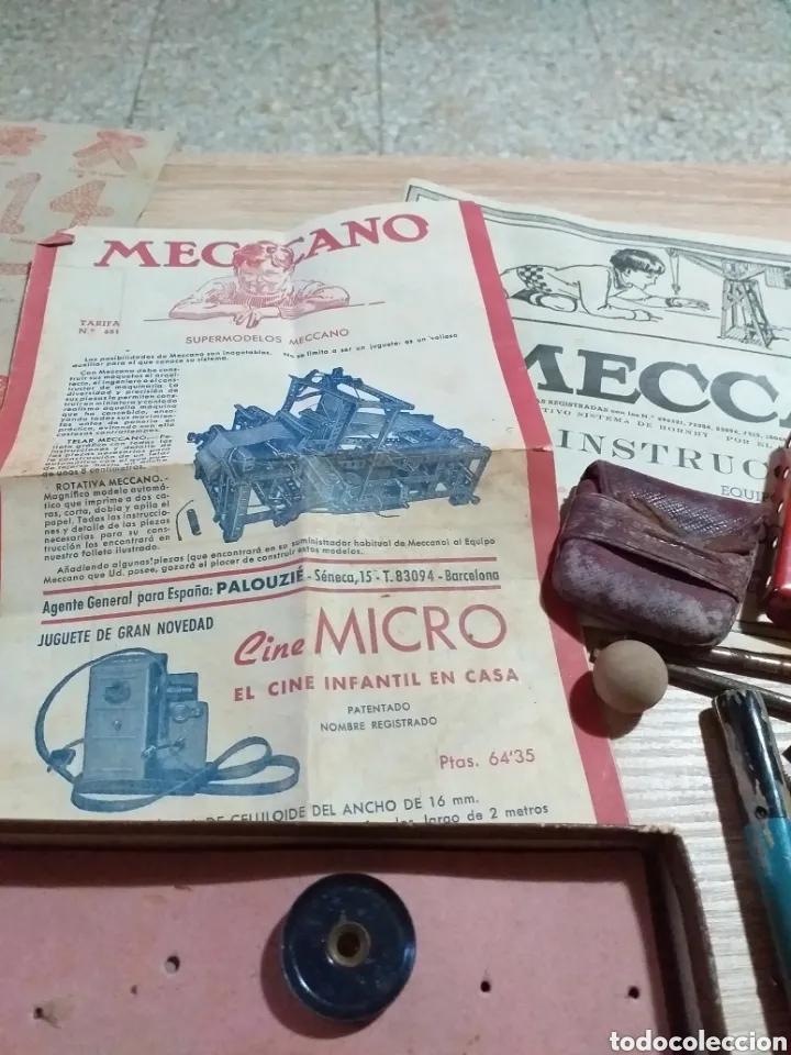 Juegos construcción - Meccano: ANTIGUO JUEGO MECCANO - Foto 4 - 182066626