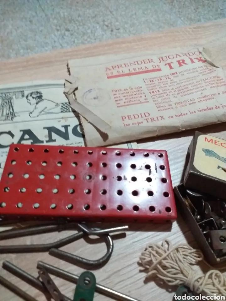 Juegos construcción - Meccano: ANTIGUO JUEGO MECCANO - Foto 5 - 182066626