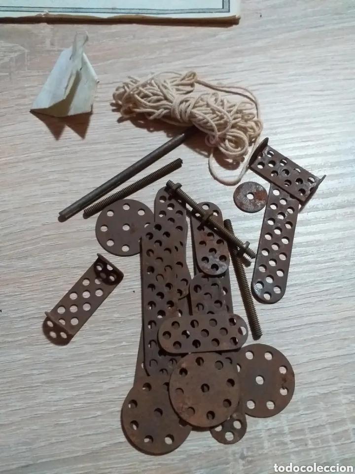 Juegos construcción - Meccano: ANTIGUO JUEGO MECCANO - Foto 10 - 182066626