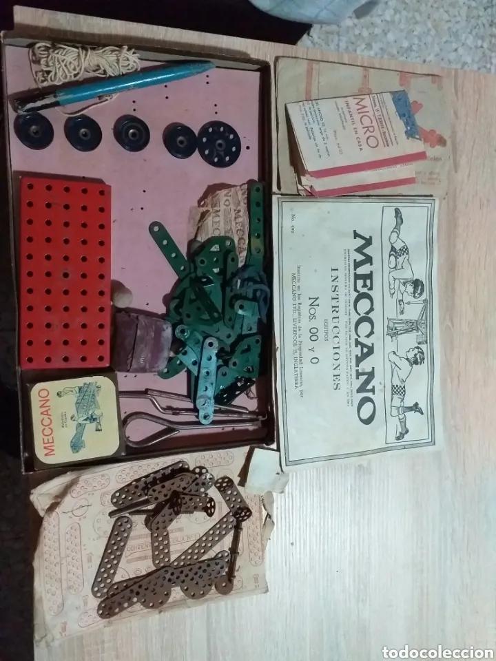 Juegos construcción - Meccano: ANTIGUO JUEGO MECCANO - Foto 12 - 182066626