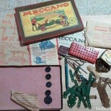 Juegos construcción - Meccano: ANTIGUO JUEGO MECCANO. Lote 182066626
