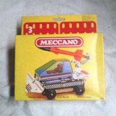 Juegos construcción - Meccano: GUERRERO LUNAR DE MECCANO MECANO 3 REF 86290, NUEVO A ESTRENAR RESTO TIENDA AÑO 1981. Lote 182500535