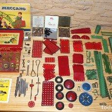 Juegos construcción - Meccano: MECCANO - CAJA Nº4 + CAJA ENGRANAJES B + PIEZAS Y HERRAMIENTAS. Lote 182613872