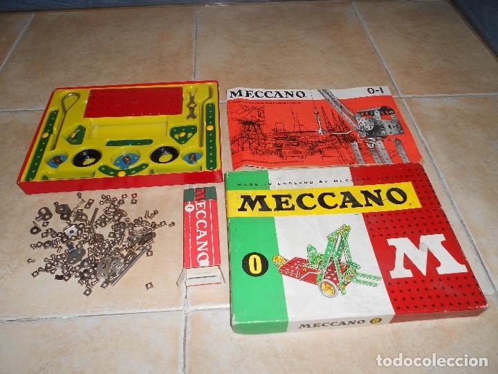 LOTE 3 CAJAS MECCANO MECANO 0 2 4 MUY COMPLETO Y CASI SIN USO AÑOS 60 (Juguetes - Construcción - Meccano)