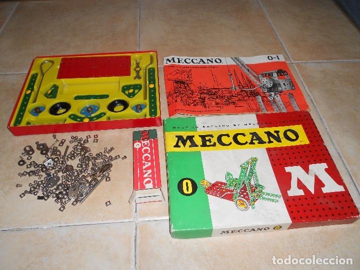 Juegos construcción - Meccano: LOTE 3 CAJAS MECCANO MECANO 0 2 4 MUY COMPLETO Y CASI SIN USO AÑOS 60 - Foto 2 - 183325741
