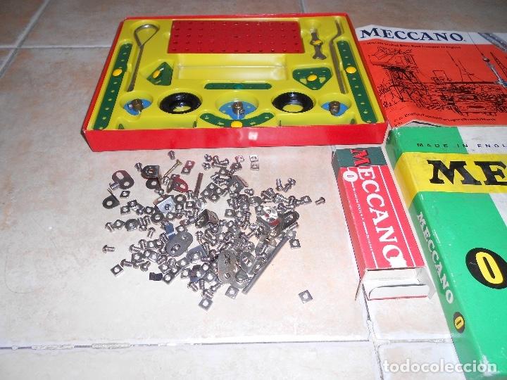 Juegos construcción - Meccano: LOTE 3 CAJAS MECCANO MECANO 0 2 4 MUY COMPLETO Y CASI SIN USO AÑOS 60 - Foto 6 - 183325741