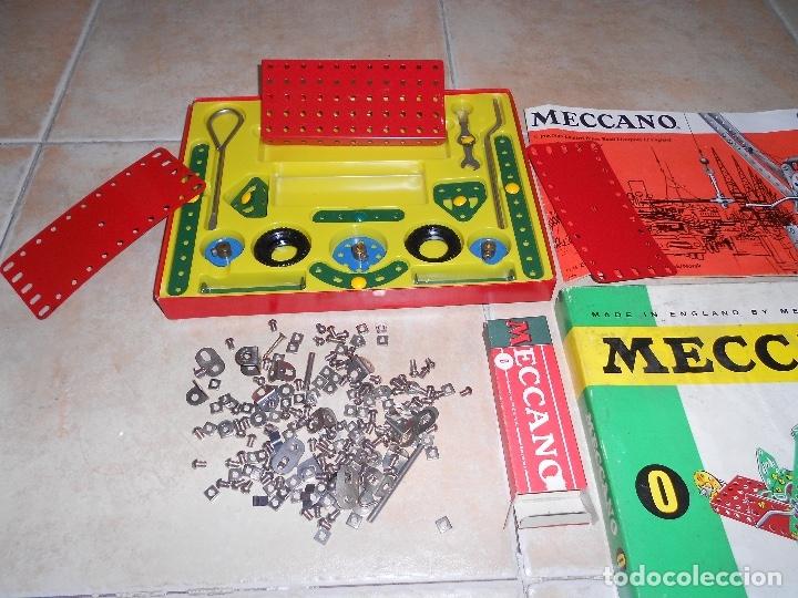 Juegos construcción - Meccano: LOTE 3 CAJAS MECCANO MECANO 0 2 4 MUY COMPLETO Y CASI SIN USO AÑOS 60 - Foto 8 - 183325741