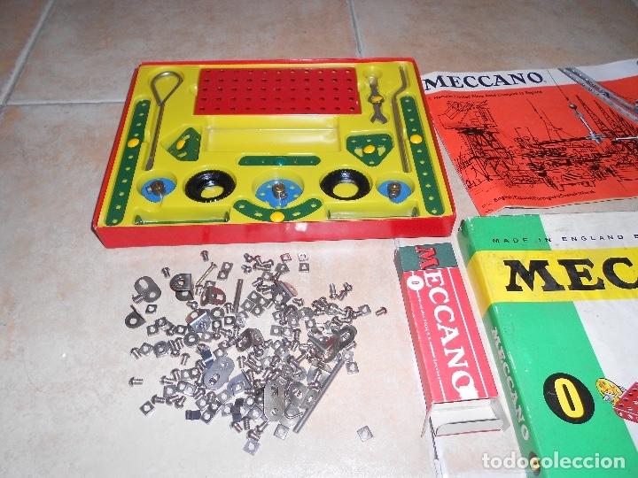 Juegos construcción - Meccano: LOTE 3 CAJAS MECCANO MECANO 0 2 4 MUY COMPLETO Y CASI SIN USO AÑOS 60 - Foto 9 - 183325741