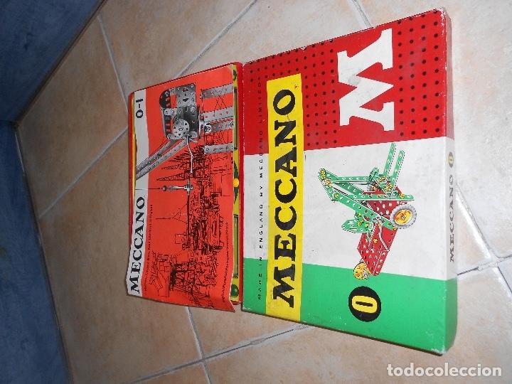 Juegos construcción - Meccano: LOTE 3 CAJAS MECCANO MECANO 0 2 4 MUY COMPLETO Y CASI SIN USO AÑOS 60 - Foto 10 - 183325741