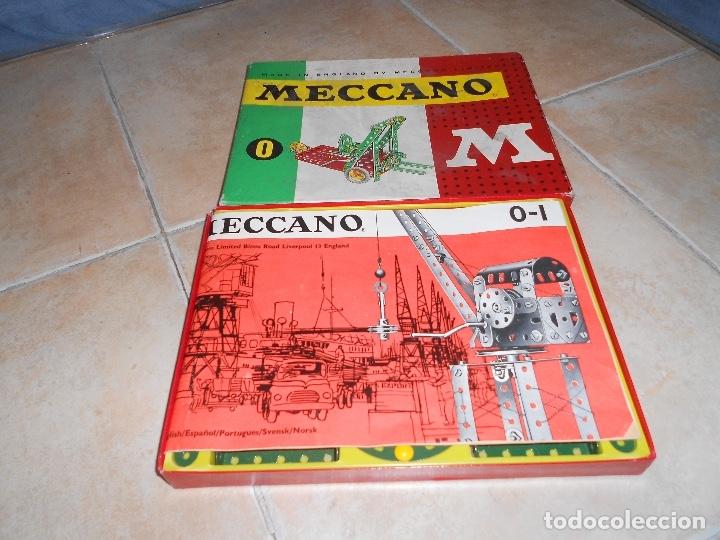 Juegos construcción - Meccano: LOTE 3 CAJAS MECCANO MECANO 0 2 4 MUY COMPLETO Y CASI SIN USO AÑOS 60 - Foto 11 - 183325741