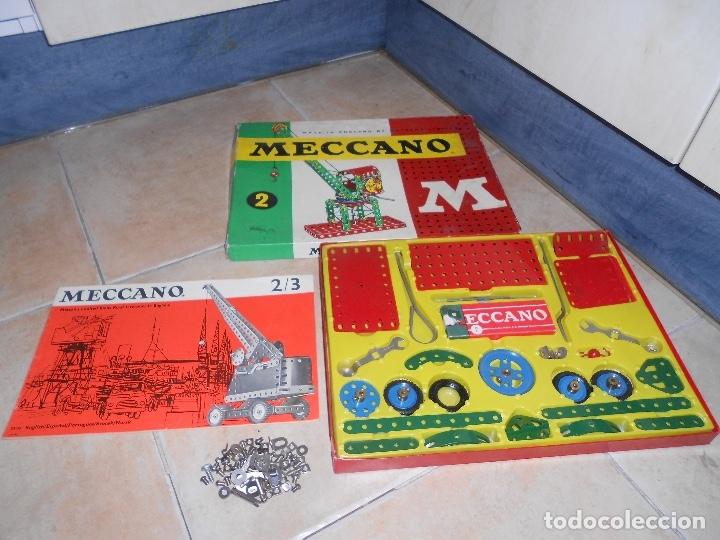 Juegos construcción - Meccano: LOTE 3 CAJAS MECCANO MECANO 0 2 4 MUY COMPLETO Y CASI SIN USO AÑOS 60 - Foto 13 - 183325741