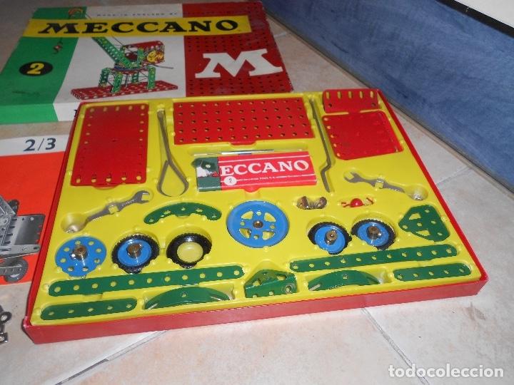 Juegos construcción - Meccano: LOTE 3 CAJAS MECCANO MECANO 0 2 4 MUY COMPLETO Y CASI SIN USO AÑOS 60 - Foto 15 - 183325741