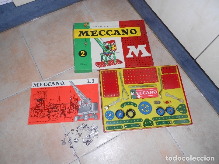 Juegos construcción - Meccano: LOTE 3 CAJAS MECCANO MECANO 0 2 4 MUY COMPLETO Y CASI SIN USO AÑOS 60 - Foto 16 - 183325741