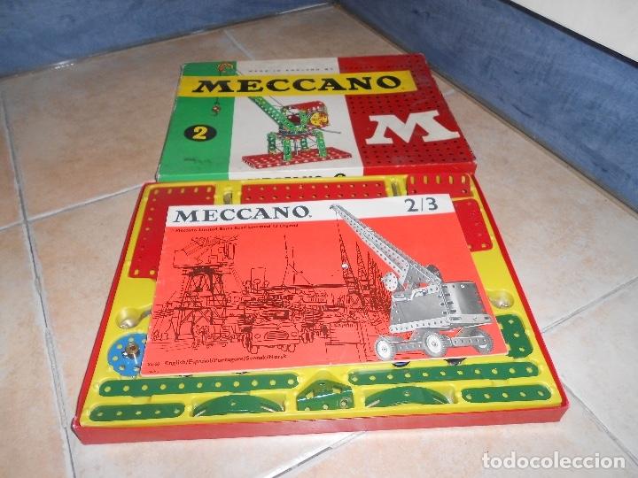 Juegos construcción - Meccano: LOTE 3 CAJAS MECCANO MECANO 0 2 4 MUY COMPLETO Y CASI SIN USO AÑOS 60 - Foto 17 - 183325741