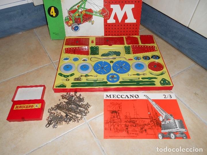 Juegos construcción - Meccano: LOTE 3 CAJAS MECCANO MECANO 0 2 4 MUY COMPLETO Y CASI SIN USO AÑOS 60 - Foto 18 - 183325741