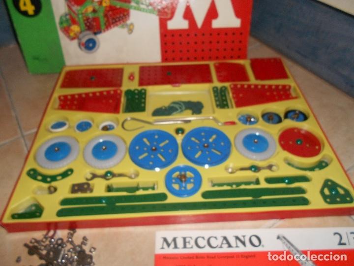 Juegos construcción - Meccano: LOTE 3 CAJAS MECCANO MECANO 0 2 4 MUY COMPLETO Y CASI SIN USO AÑOS 60 - Foto 19 - 183325741