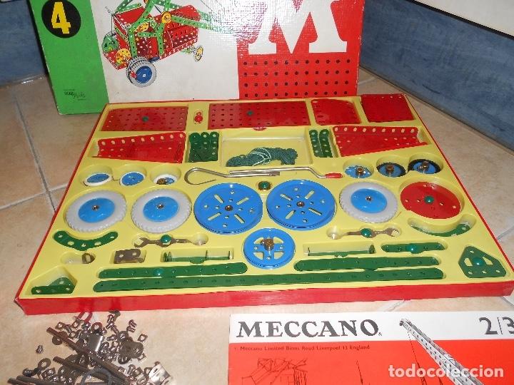 Juegos construcción - Meccano: LOTE 3 CAJAS MECCANO MECANO 0 2 4 MUY COMPLETO Y CASI SIN USO AÑOS 60 - Foto 20 - 183325741