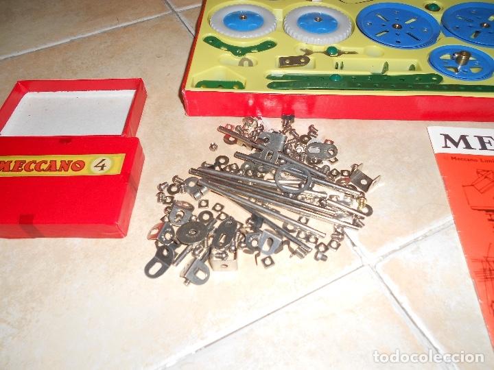 Juegos construcción - Meccano: LOTE 3 CAJAS MECCANO MECANO 0 2 4 MUY COMPLETO Y CASI SIN USO AÑOS 60 - Foto 22 - 183325741