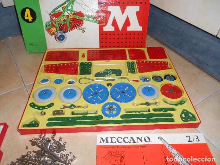 Juegos construcción - Meccano: LOTE 3 CAJAS MECCANO MECANO 0 2 4 MUY COMPLETO Y CASI SIN USO AÑOS 60 - Foto 23 - 183325741