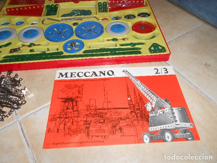 Juegos construcción - Meccano: LOTE 3 CAJAS MECCANO MECANO 0 2 4 MUY COMPLETO Y CASI SIN USO AÑOS 60 - Foto 24 - 183325741