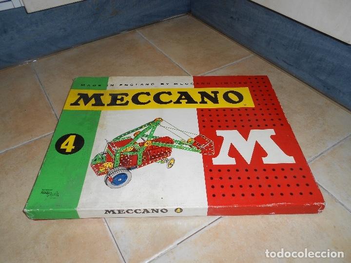 Juegos construcción - Meccano: LOTE 3 CAJAS MECCANO MECANO 0 2 4 MUY COMPLETO Y CASI SIN USO AÑOS 60 - Foto 27 - 183325741