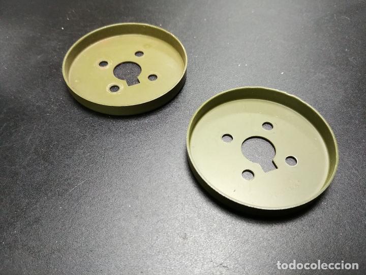 Juegos construcción - Meccano: MECCANO, PARTE 137. Placas circulares para acoplar a la 109. - Foto 2 - 183337200