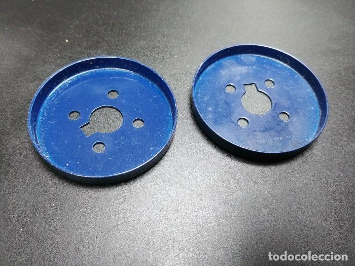 Juegos construcción - Meccano: MECCANO, PARTE 137. Placas circulares para acoplar a la 109. - Foto 2 - 183337370