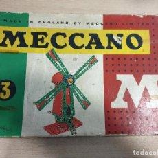 Juegos construcción - Meccano: MECCANO Nº 3. Lote 184316136