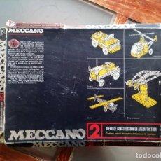 Juegos construcción - Meccano: MECCANO 2, DE EXIN. Lote 184826585