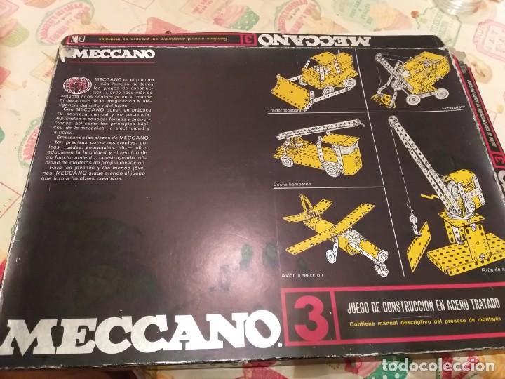 MECCANO 3 EXIM AÑOS 70 EN CAJA (Juguetes - Construcción - Meccano)